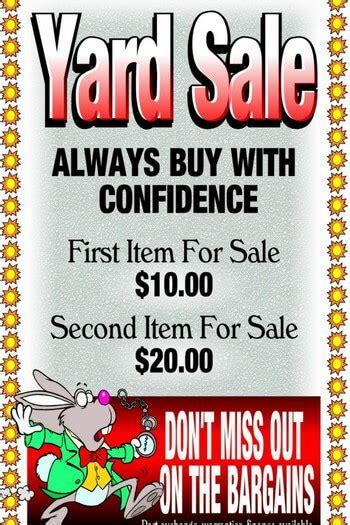 How to write garage sale ad jpg 350x525